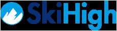 SkiHigh – skireizen naar hooggelegen skigebieden Logo